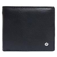 Портмоне мужское кожаное черное F. Leather Collection ALRT-F9 Black, фото 1