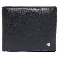 Портмоне мужское кожаное черное F. Leather Collection ALRT-F13 Black, фото 1