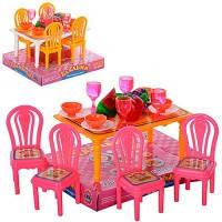 """Детский игровой набор """"Мебель для столовой"""" для кукол"""