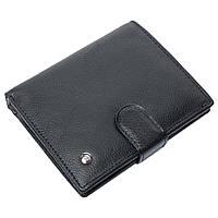 Портмоне мужское кожаное черное F. Leather Collection ALRT-F42 Black, фото 1