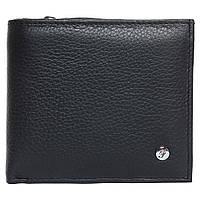 Портмоне мужское кожаное черное F. Leather Collection ALRT-F54 Black, фото 1