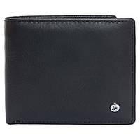 Портмоне мужское кожаное черное F. Leather Collection ALRT-F59 Black, фото 1