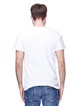 Футболка чоловіча молодіжна біла, фото 3
