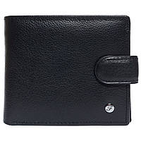 Портмоне мужское кожаное черное F. Leather Collection ALRT-F1301 Black, фото 1