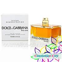 Тестер женский Dolce&Gabbana The One Woman,75 мл, фото 1