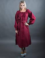 """Сукня вишита на льоні """"Чернігівщина"""" розміри в наявності, фото 1"""
