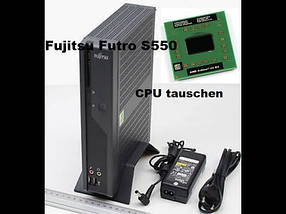 Тонкый клиент Fujitsu FUTRO S550 usff-AMD Sempron 2100+-1,0GHz-2Gb-DDR2-4Gb Flash - Б/У, фото 2