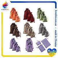 Сувенирные мешочки оптом с возможностью нанесения логотипа (от 100-500 шт.)