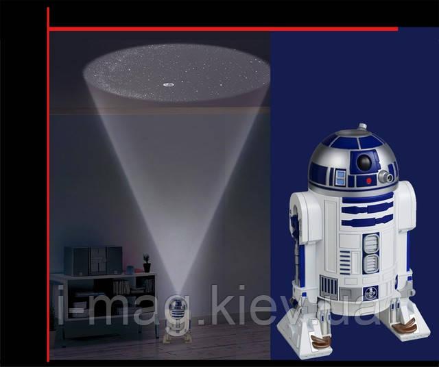 Светильник проектор звездного неба R2-D2 Sega Toys Homestar R2-D2, фото 1