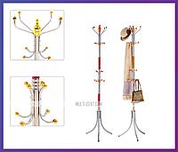 Напольная вешалка для одежды тренога Coat Rack 16 крючков, фото 1