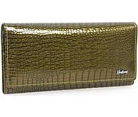 Женский кошелек кожаный AL-AE150-GR зеленый, фото 1