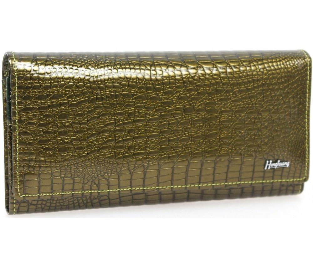 Женский кошелек кожаный AL-AE150-GR зеленый