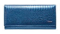 Женский кошелек кожаный AL-AE150-LB синий, фото 1