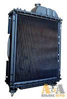 Радіатор 70У-1301010 (5-ти ряд) (латунний з металічними бачками) (JFD)