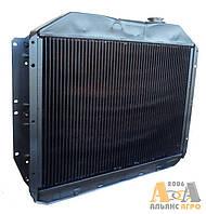 Радіатор водяний 130-1301010 (3-х рядний) (латунний) (JFD)