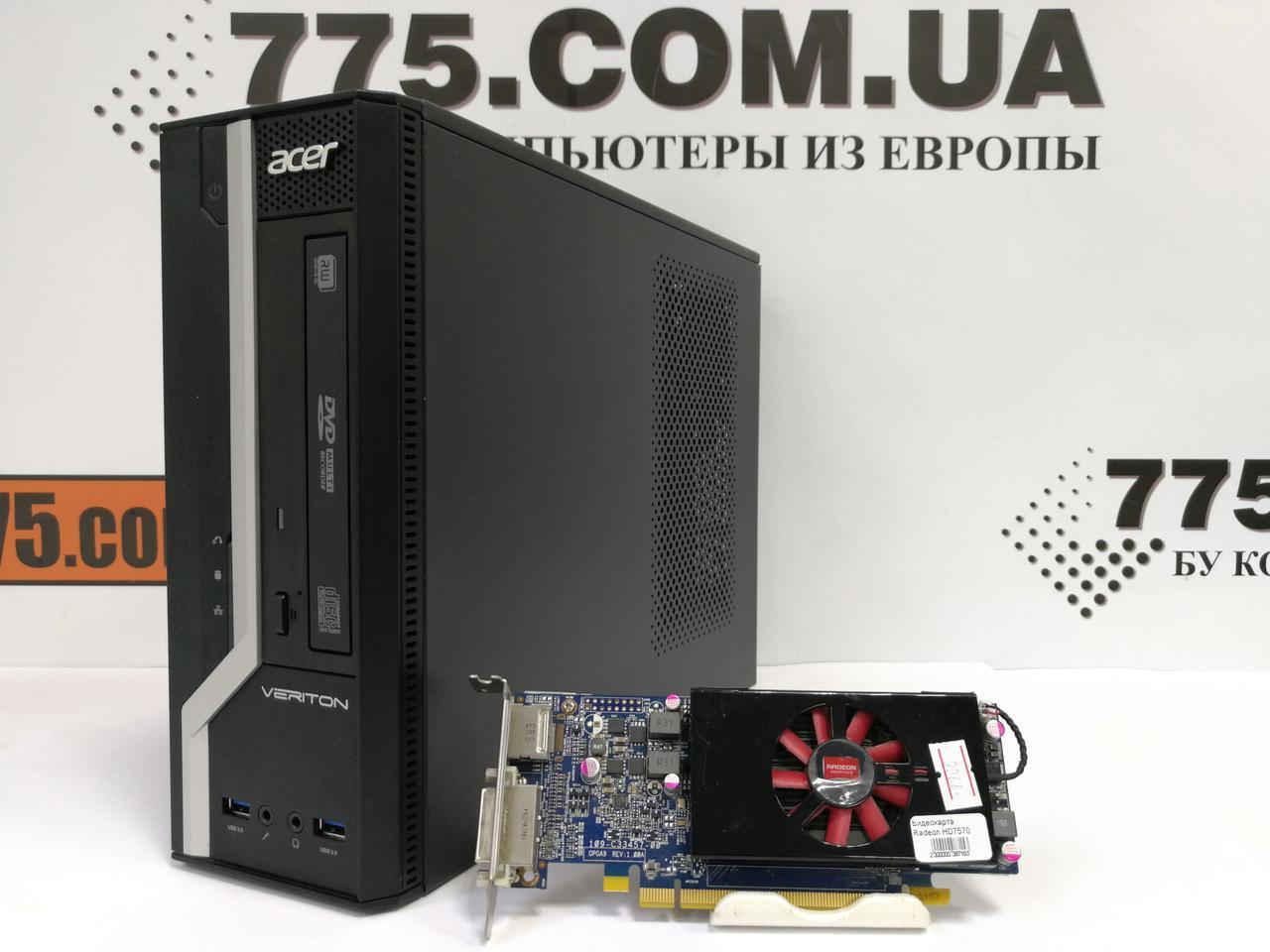 Игровой компьютер Acer Veriton X2631G, Intel Сore i3-4130 3.40GHz, RAM 6ГБ, HDD 320ГБ, HD 8570 1ГБ