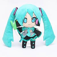 Мягкая игрушка 25 см  Хацунэ Мику Vocaloid Hatsune Miku VHM 22.43