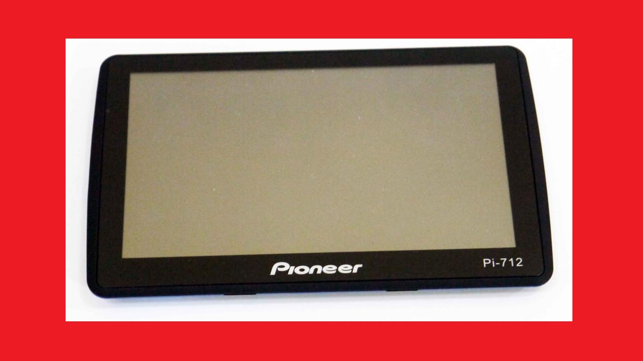"""7"""" GPS навигатор Pioneer 712 - 8Gb / 800MHz / 256Mb / IGO + Navitel + CityGuide"""