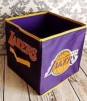 Короб складной для игрушек, вещей и мелочей. 30*30*30см. Лос-Анджелес