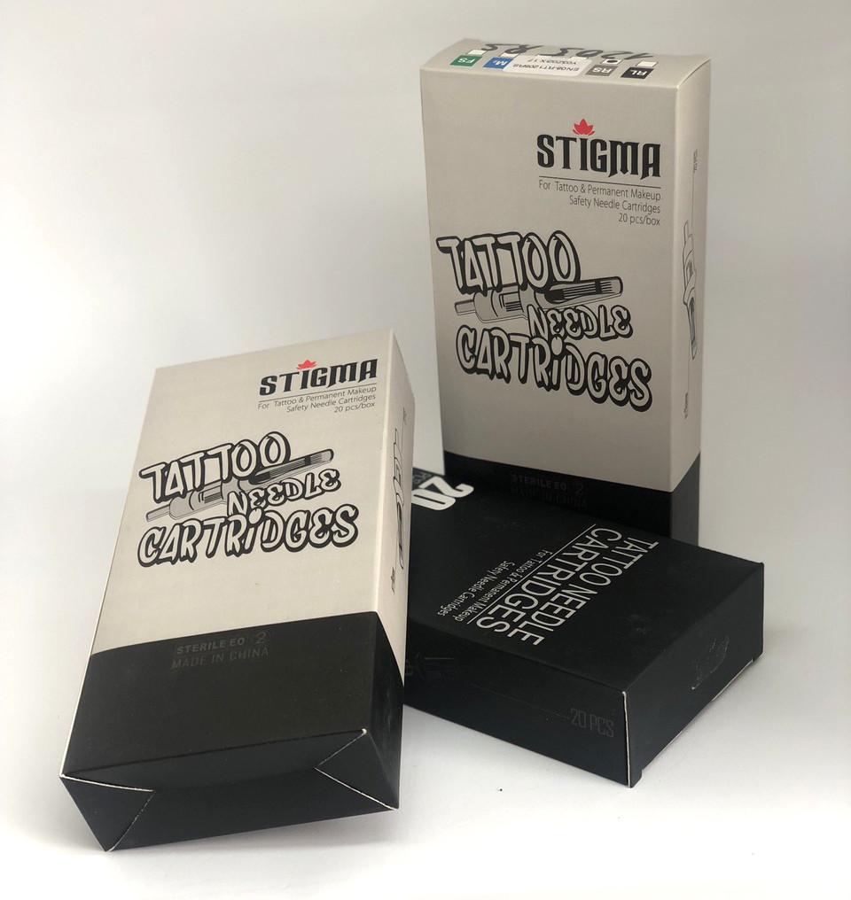 Картриджи для тату STIGMA, RT 1203RL (мембрана)