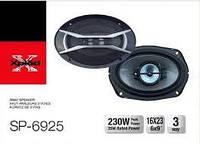 Авто акустика SP-6925 (6''*9'', 4-х полос., 1200W)