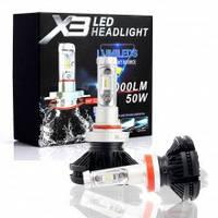 Автолампа LED X3 H7