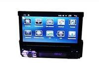 Автомагнитола 1DIN DVD-9901 Android GPS с выезжающим экраном