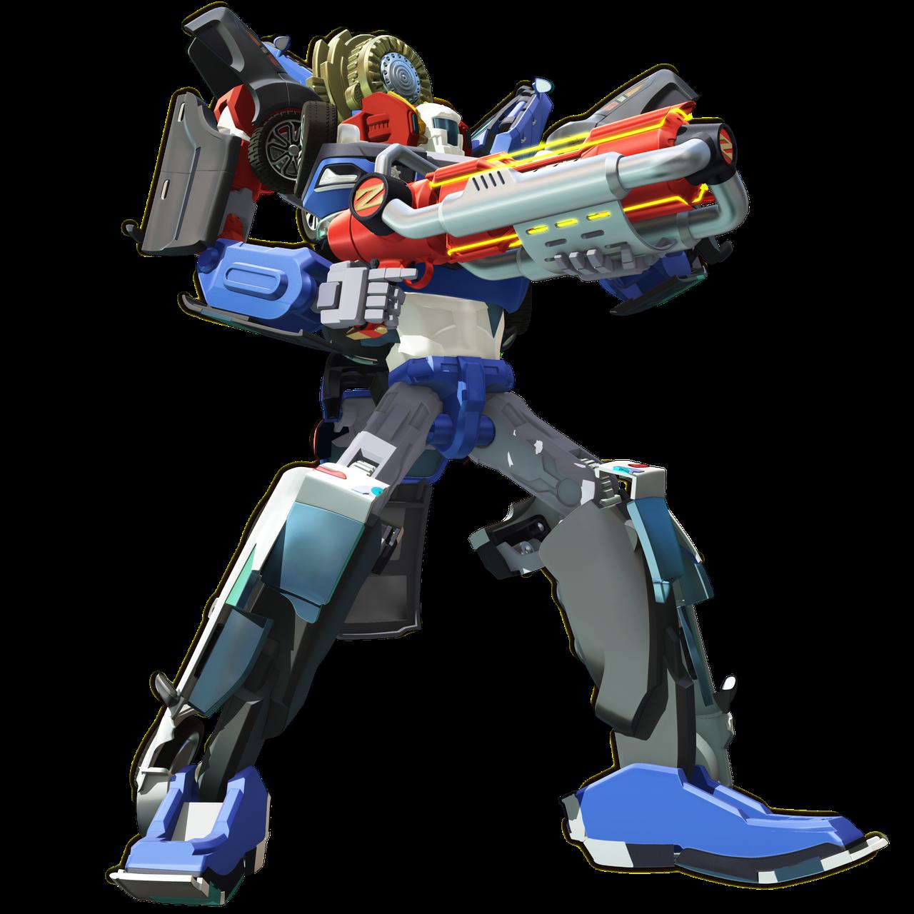 Робот - трансформер Tobot Тритан со светом и звуком (301007)