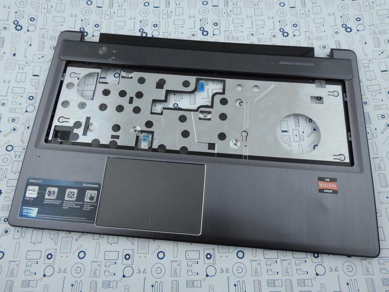 New. Верхний корпус Lenovo Z585,Z580 серый 90200640