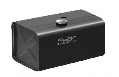 Бак паливний КМЗ Євро 300л 900х540х640 голий з низькою напівобертовою горловиною (5464-1101300-004)