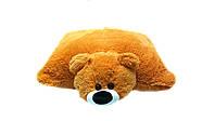 Детская подушка-игрушка Мишка 55 см медовый, фото 1