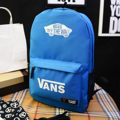 Городской рюкзак Vans синий (реплика)