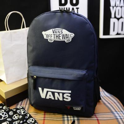 Городской рюкзак Vans темно-синий (реплика)