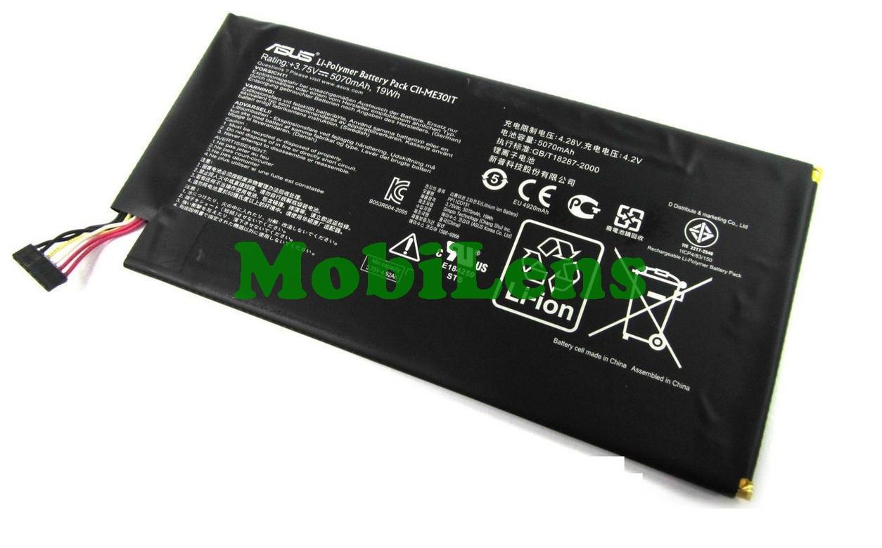 Asus ME301T, C11-ME301T, MeMO Pad Smart 10, K001, 5070 мАч Аккумулятор