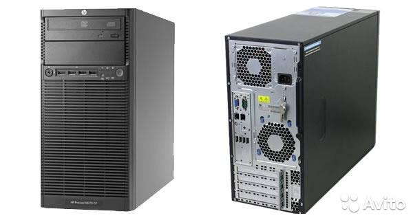 Сервер HP ProLiant ML 110-G7-Intel Core i3-2100-3,10GHz-4Gb-DDR3-HDD-2*250Gb-DWD-R- Б/У, фото 2