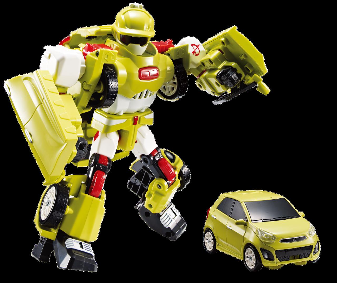 Робот - трансформер Tobot D со светом и звуком (301015)