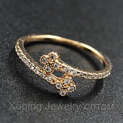 Кольцо женское Xuping Jewerly 18k R002