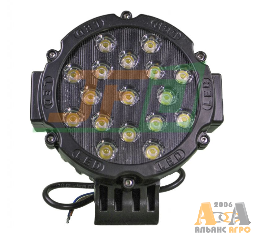 LED Фара робочого світла 51W/30 JFD-1055