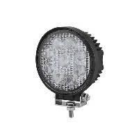 27W/60 (9x3W/широкий промінь, круглий корпус) 2200 lm LED Фара робоча L0076 (JFD-1075) (Poland)