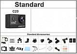 Екшн-камера SOOCOO C20 1080P. Чорний., фото 5