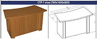 Стол руководителя СТР-1, большой (760*1600*850), фото 1