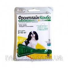 Фронтлайн Комбо Капли для собак 2-10 кг FrontLine COMBO