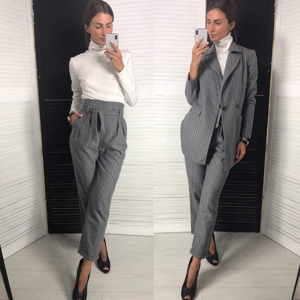 aecb66f265e Женский брючный костюм новинка 2019 - Интернет- магазин