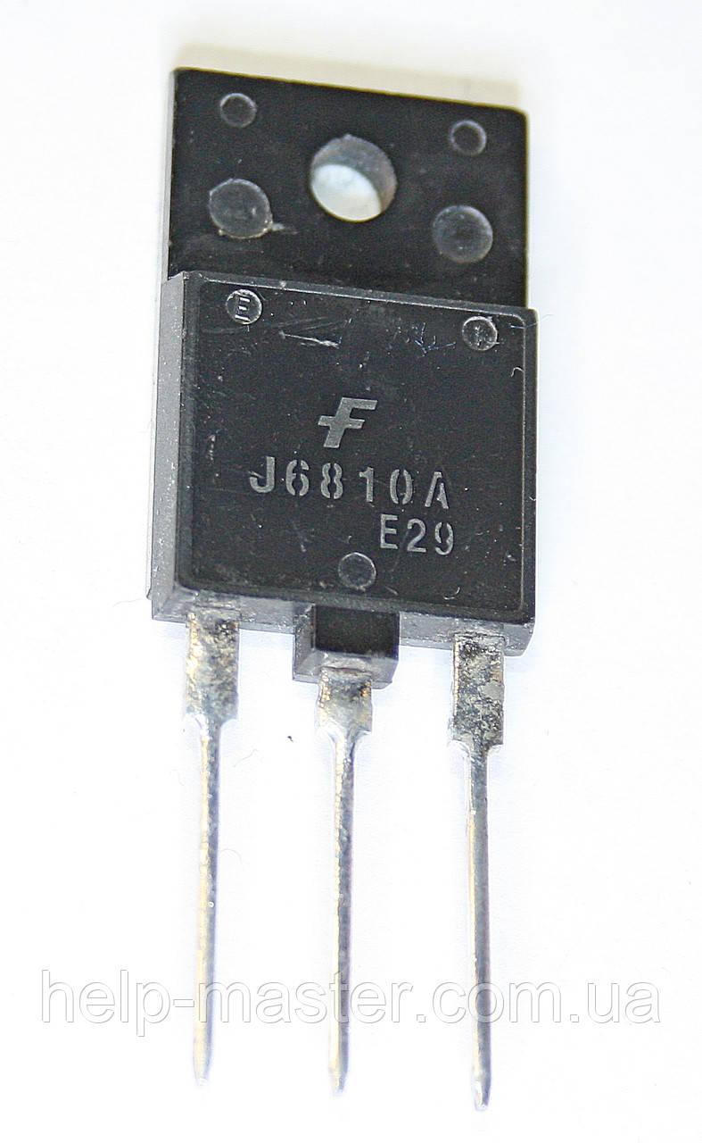 Транзистор J6810A (TO-3PF)