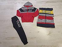 Спортивный костюм 2 в 1 для мальчика оптом, Seagull, 8-16 лет,  № CSQ-92003