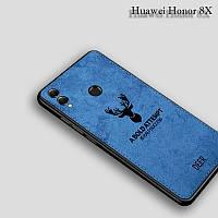 Силиконовый чехол DEER для Huawei Honor 8X цвет Синий, фото 1