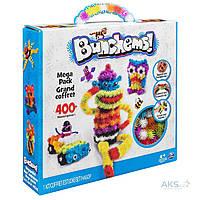 Игрушка Bunchems (Банчемс) 200 шт. мягкий пушистый шарик репейник конструктор-липучка игрушка