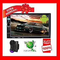 Автомагнитола 2din Pioneer M8702 GPS Android 7.1 + WiFi + 4Ядра +16 гб ПЗУ+2гб ОЗУ