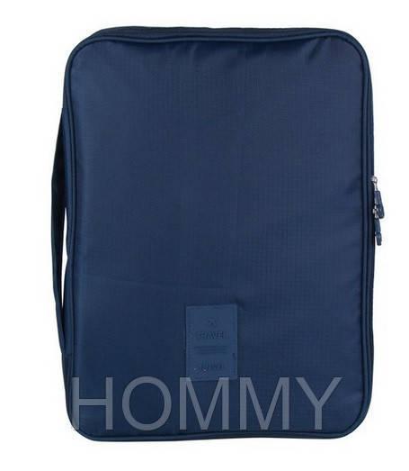 Органайзер-кейс для рубашек и блузок. Синий