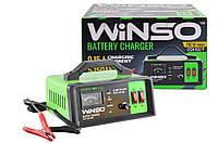Зарядное устройство WINSO АКБ 12-24В. максимальнй ток подз. 15А, максимальная емкость 150Ah для аккумулятора авто